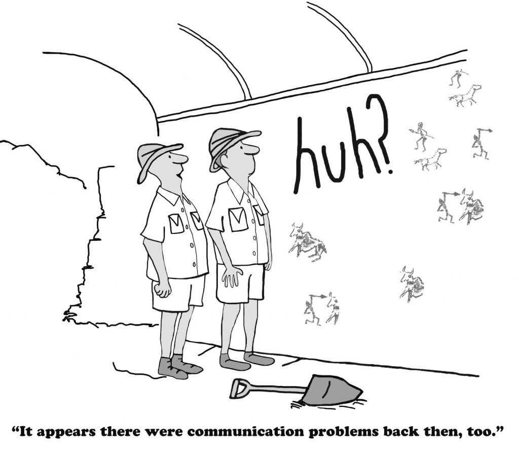 On the importance of communication clarity.